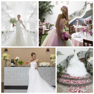 ◆1200着から選ぶ♪【有名ブランドウェディングドレスカラードレス試着×試食】体験フェア