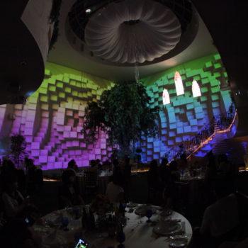 3Dマッピングは有名テーマパークも手がけたクリエイターの作品